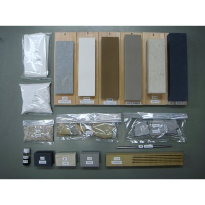 Photo1: Japanese Sword Polishing Kit