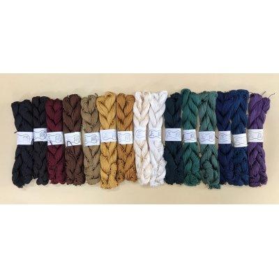 Photo1: Jabara-ito Silk Thin (1mm wide)